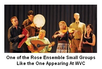 Rose Ensemble small group